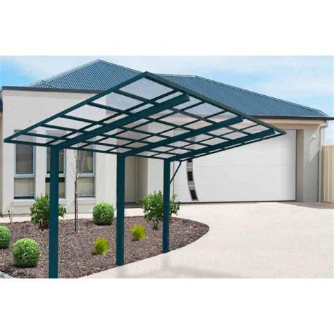 Design Carport Überdachung Bausatz Aluminium 5,4m X 2,99m