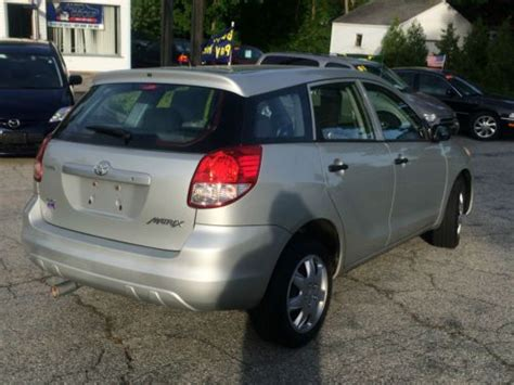 find   toyota matrix base wagon  door  awd