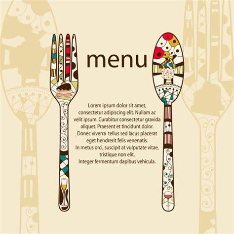 Free Menu Design Templates by Restaurant Menus Design Cover Template Vector 05 Free