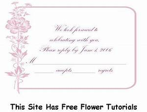 lizl39s blog funeral program templates and free obituary With examples of wedding rsvp cards wording