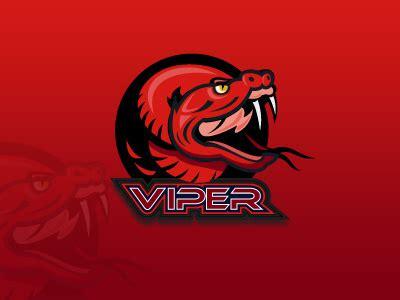 premade viper mascot logo  sale esports logo