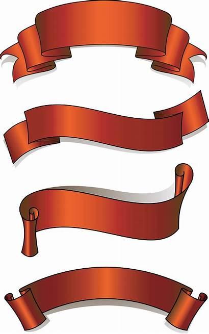 Ribbon Banner Vector Clipart Pita Newdesignfile Simple
