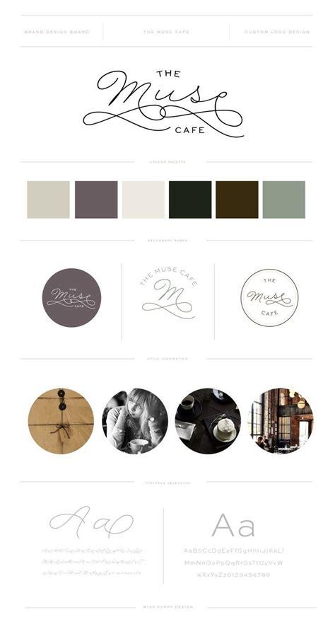 branding addicts brand board modern 25 best ideas about coffee shop logo on