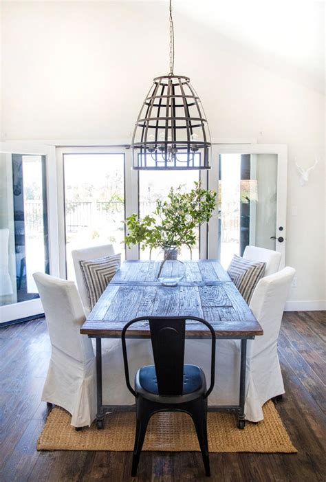 dining room restoration hardware table  ikea chairs