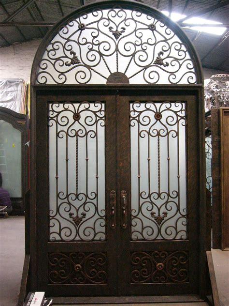 wrought iron door wrought iron door el1005 monarch custom doors