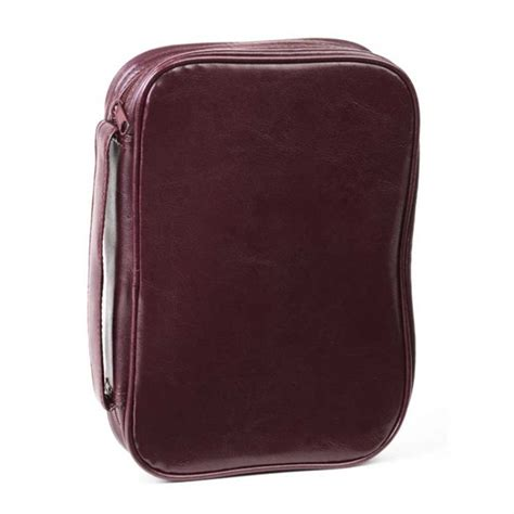 Burgundy Cover by Bibles Covers Stands Leatherette Burgundy Bible