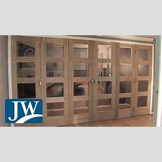 Internal Folding Doors Youtube
