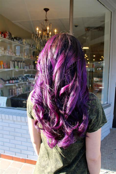 Purple Ombre Grace To Create