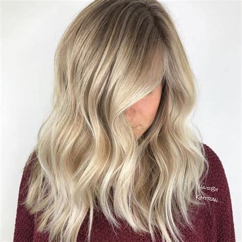 warm toned blonde hair colors  honey  bronde