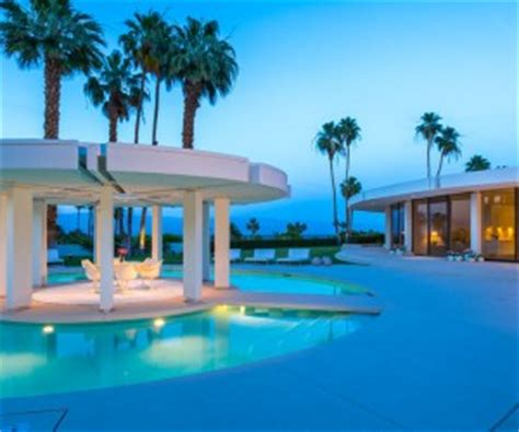 Luxury Southern California Home Celebrates The Endless Summer by Stunning Desert Abode Fit For A Bond Villain