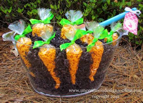easter snack ideas our carrot patch a fun easter treat uncommon designs