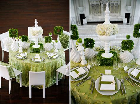 wedding decor ideas green wedding d 233 cor theme wedding decorations wedding
