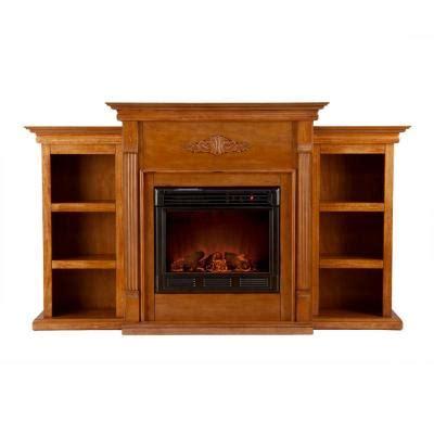 tennyson bookcase electric fireplace southern enterprises tennyson 70 in electric fireplace