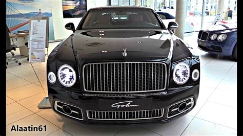 bentley mulsanne   full review interior exterior