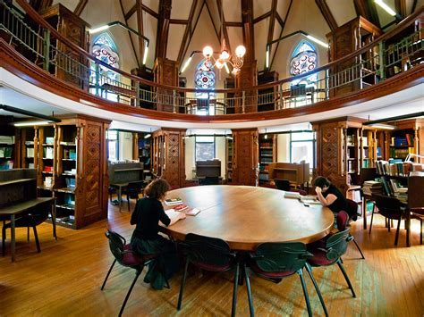 Favourite library spaces