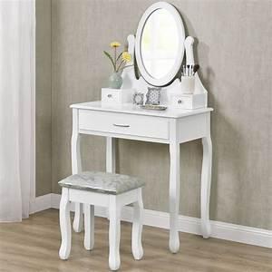 Schminktisch Hocker Ikea : schminktisch frisierkommode kosmetiktisch weiss mit hocker ~ A.2002-acura-tl-radio.info Haus und Dekorationen