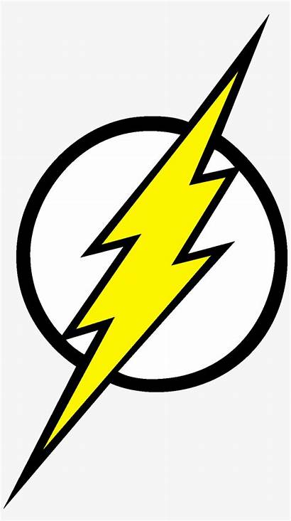 Lightning Bolt Flash Clipart Coloring Seekpng