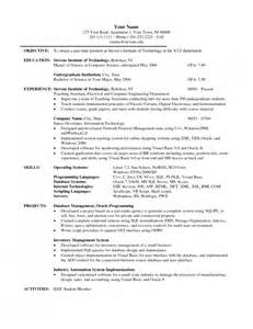 Resume Exles For Graduate Students by The Most Stylish Graduate Student Resume Sle Resume Format Web