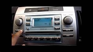 Toyota Corolla Verso 2006 : 2006 toyota corolla verso cd player stereo youtube ~ Medecine-chirurgie-esthetiques.com Avis de Voitures