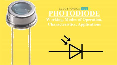 photodiode working characteristics applications