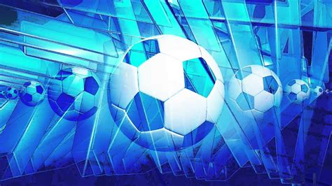 blue football motion background  stock video footage