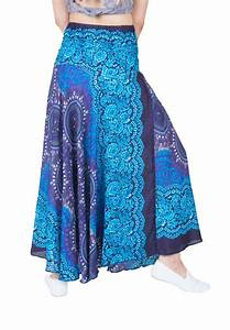 Lofbaz Womenu2019s Bohemian Boho Hippie Gypsy Long Skirts ...