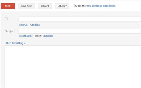 gmail create template hi tech flash here s how to get the new gmail