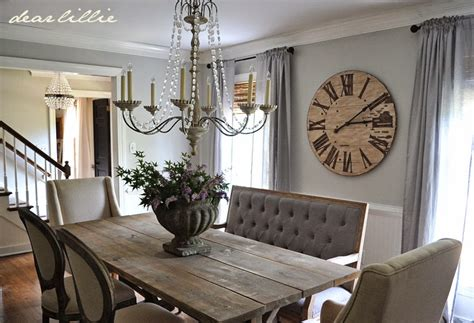 Country Style Dining Room Table Sets by Dear Lillie Our Updated Dining Room With A New Farmhouse