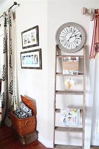 36 Dcor Ideas With Ladders Vintage Charm With Space