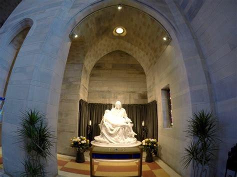 pieta statue st ann roman catholic church washington dc