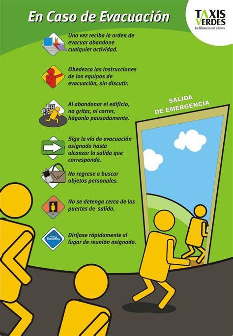 imagenes de afiches de tutoria dise 241 o afiches evacuaci 243 n