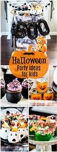 Halloween, Party, Ideas, Kids