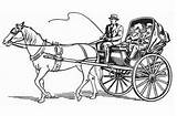 Coloring Pages Horse Drawn Hubpages Truck sketch template