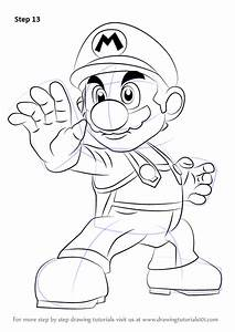 Learn How to Draw Mario from Super Smash Bros (Super Smash ...