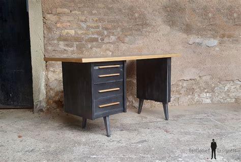 bureau gris anthracite bureau vintage style industriel gris anthracite tiroirs