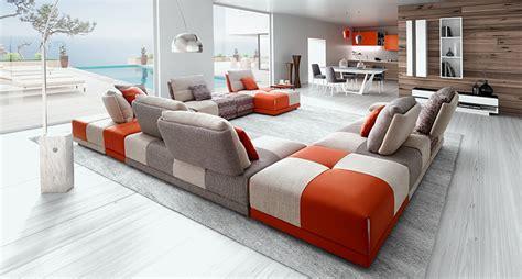 canapé d angle 4 places canapé dossier basculant modulable spacer edition toulon