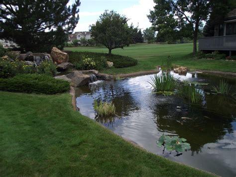 large garden pond designs video
