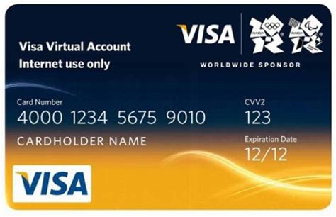These issuers are companies in which the credit card came from such as visa, mastercard, jcb, discover. Free: Visa Virtual Credit Card - Other Computer Items - Listia.com Auctions for Free Stuff