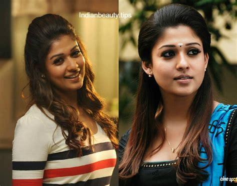 actress nayanthara hairstyles indian beauty tips