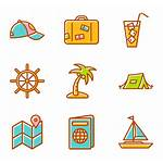 Summer Elements Icon Icons Clipart Beach Vector