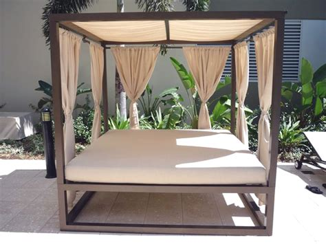 outdoor daybed with canopy by florida patio florida