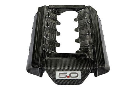 mustang  carbon fiber lg engine cover
