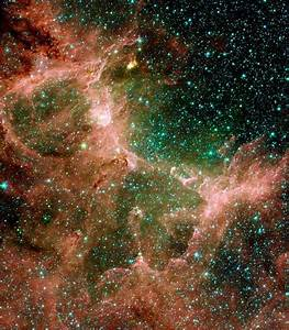Space Images | Eagle Nebula Flaunts its Infrared Feathers