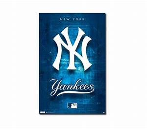 New York Yankees Logo Poster College Dorm Supplies Must