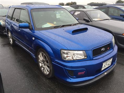 Subaru Forester Sti Version