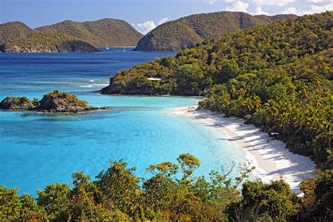 Trunk Bay St John Us Virgin Islands By George Oze
