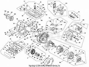 Homelite Hgca3000 Series 3000 Watt Generator Parts Diagram