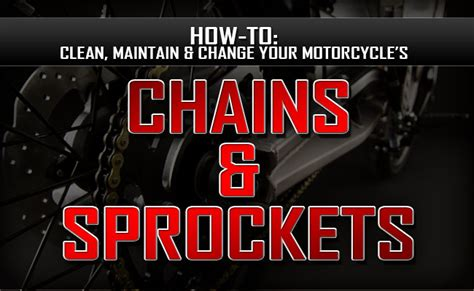 How To Clean, Maintain And Change Your Motorcycle's Chain