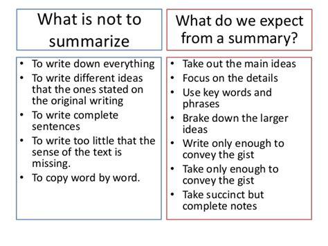 reading and writing iv write a summarizing essay