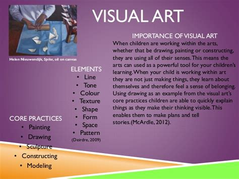importance of art in preschool arts in early childhood assignment 1 847